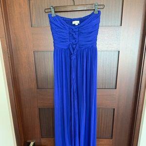 Royal Blue Maxi Dress